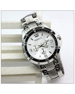 Rosra Round Silver Dial  Wrist Watch for Man RSS1