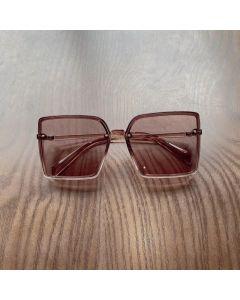Fox Brown Girls Stylish Square Sunglasses
