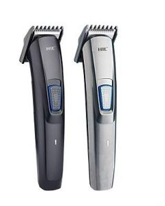 HTC. AT-522 Rechargeable Hair Clipper and Trimmer for Men Beard and Hair Cut (Black)