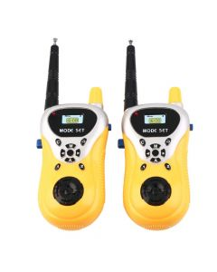 Weby Walkie Talkie Toy with Range Upto 100 Feet (Multi-Color)