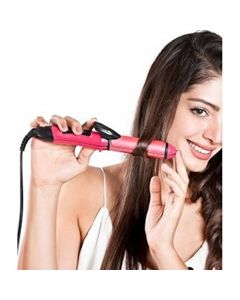 NV 2 In 1 Hair Straightener And Curler For Women With Ceramic Plate | Hair Straightener And Curler