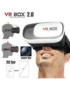 Crypto VR Box Glasses Cardboard 3D/360 Degree For 4-6 inch Smartphones