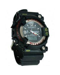 S-Shock Black Starp Sports Analog Digital Black Dial Men's Watch - MTG 201214