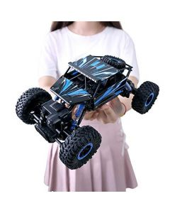 Nord Bay Rock Crawler 1:18 Scale 4Wd Rally Car - The Mean Machine, Blue