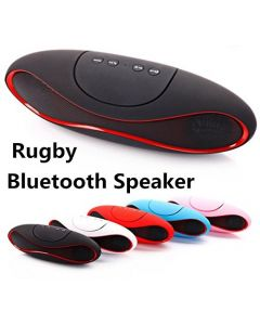 BT Rugby  Bluetooth Wireless Outdoor Portable USB MP3 Player