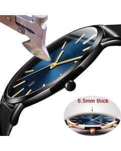 Jubile Waterproof Fashion Watches Simple Business Men General Quartz Watches