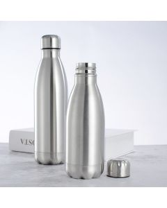 MOR Thermosteel 24 Hours Hot and Cold Water Bottle, 1 Liter, Silver 1000 ml Bottle  (Pack of 1, Silver, Steel)