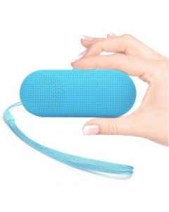 BT Y2 Rechargeable Bluetooth Stereo Speaker With FM, SD Card Slot  Blue