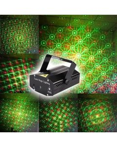 Virat Mini Laser Projector Stage Lighting Sound Activated Laser Light for Party and DJ For Diwali Celebration
