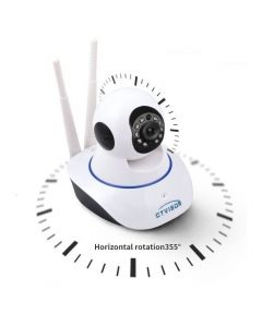 V380 Wireless 1080p HD Night Vision IP Wifi Camera CCTV For Indoor Outdoor With Dual Antenna