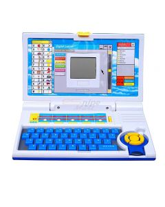 WMac 20 activities & games fun laptop notebook computer toys for kids-Blue