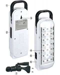 DP 20 LED'S RECHARGABLE LED LIGHT @UPTO 50% OFF With 3 Months Warranty