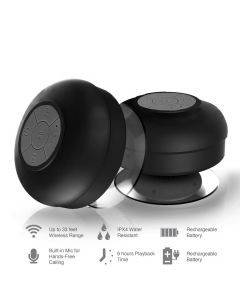 BT  Portable Waterproof Bluetooth Speaker with Mic, Calling Feature
