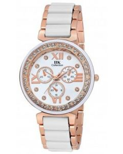 IIK Collection Analog white dial Women's Watch With 1 year manufacturer's warranty