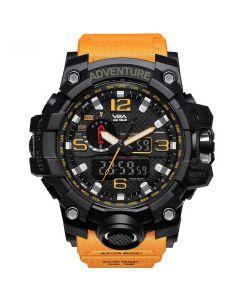 Shock Yellow Navy Standard Men's Watch