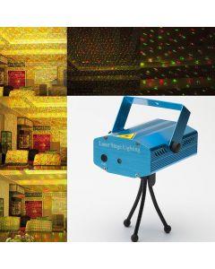 Virat Mini Red & Green Laser Projector Disco Party Bar Effect Lights Stage Lighting For Diwali Celebration