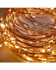 Nano 5 M Pack of 2 Copper String Light with USB for Decorations Warm White Pack OF 2 For Diwali