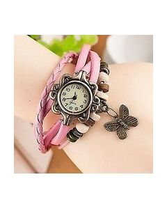 Sylys Butterfly Edition  Analogue Pink Dial Girl's Watch-