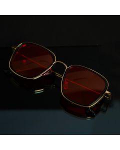 CostaRica Men's Square Metal Frame Sunglasses - Kabir Singh