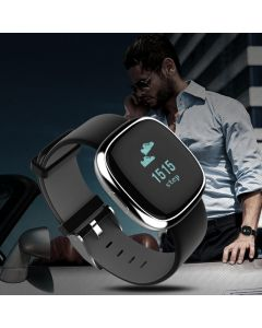 Cypher MIG29 0.95 inch OLED Heart Rate Fitness Tracker Smart Wristband Watch