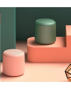Techno 9D TWS Bluetooth Speaker Portable Outdoor Wireless Mini Column Stereo Music Surround Bass Box Speaker