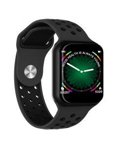 F8 Smart Watch Health Fitness Tracker With Full Waterproof Aluminium Body, Full Touch Screen.