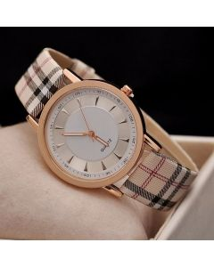IIK Analog Multi Color Rose Gold Dial Girl's and Women's Watch