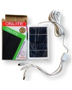 Onlite Portable Solar Panel 6 V For Mobile And Emergency Led Light