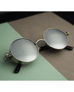 CostaRica Blue Round Pulse Sunglasses