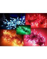 Rice Lights 5 Mtr Pack of 5 Serial Bulbs Home Decoration Lighting for Diwali Christmas Navratra Lighting Random Colors