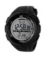 Skmei 1122 Black Analog Digital Black Round Dial Boys Watch -