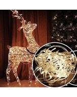 Virat 5 Mtr LED RICE string strip Warm White decoration 16 Bulb lights 5 METRE LONG - Diwali / Festival / Wedding / Gifting / Xmax / New Year