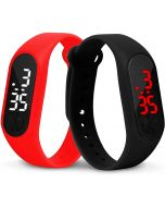 Men Sport Casual LED Watches Men's Digital Clock Man Army Military Silicone Wrist Watch