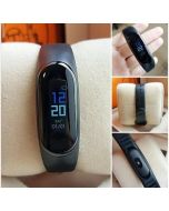 Smart band 3 fitness band with heart rate monitor and step counter M3