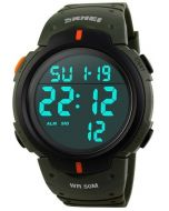 Skmei 1068 Navy Green Strap LED Digital Military Men's Watch
